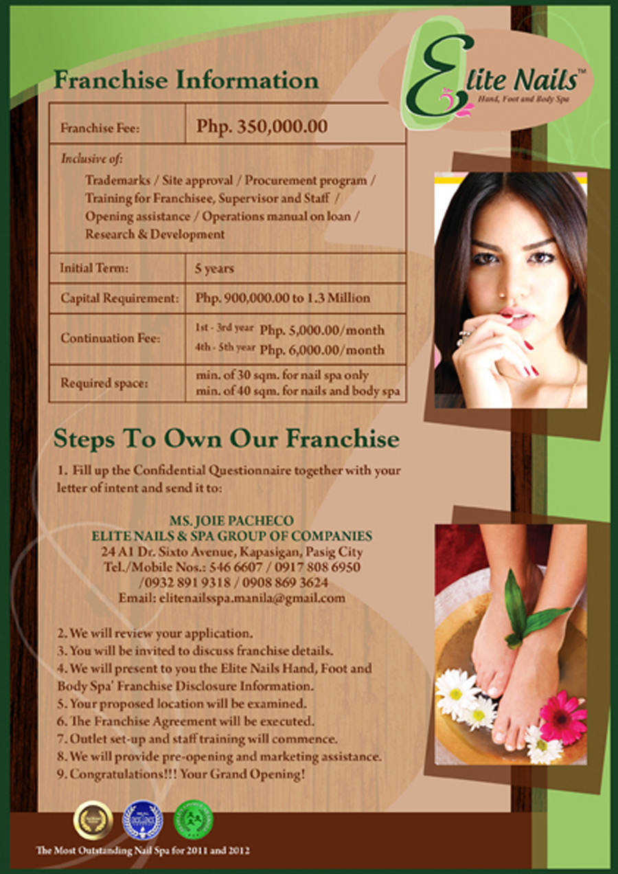 Elite Nails - Franchise Information
